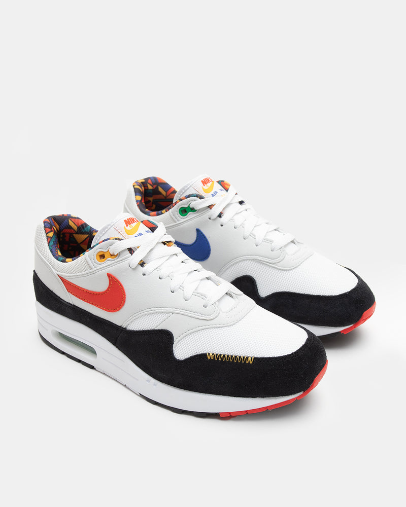 Air Max 1 (White | Chile Red | Photon Dust)