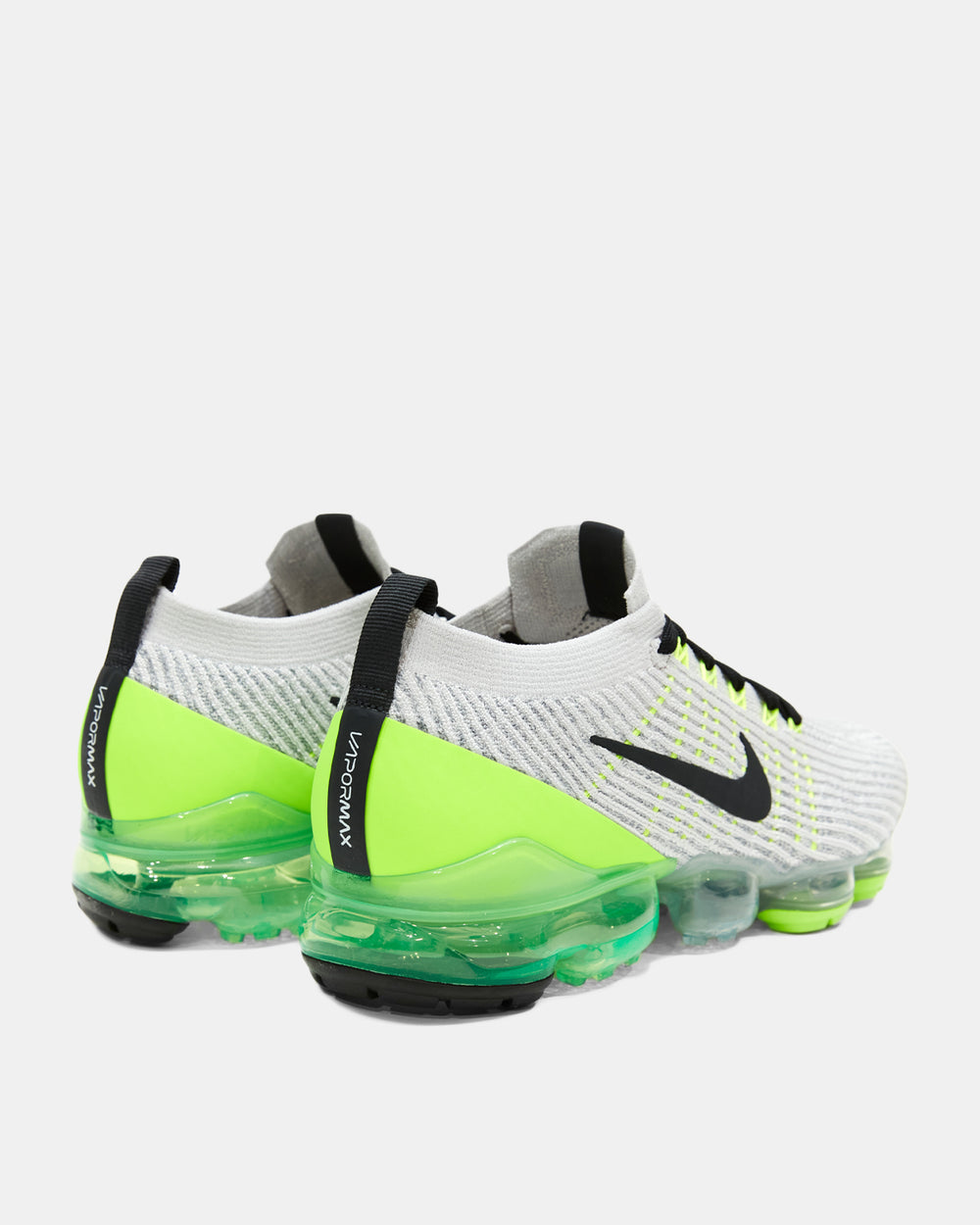 Nike - Air VaporMax Flyknit 3 (Vast Grey | Electric Green | White | Off Noir)