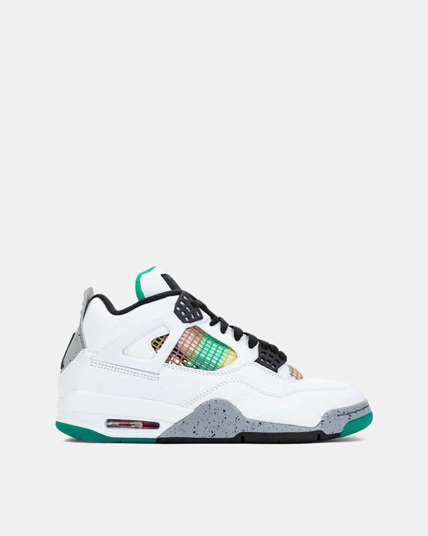"Women's Air Jordan 4 Retro ""Rasta"" (Wht