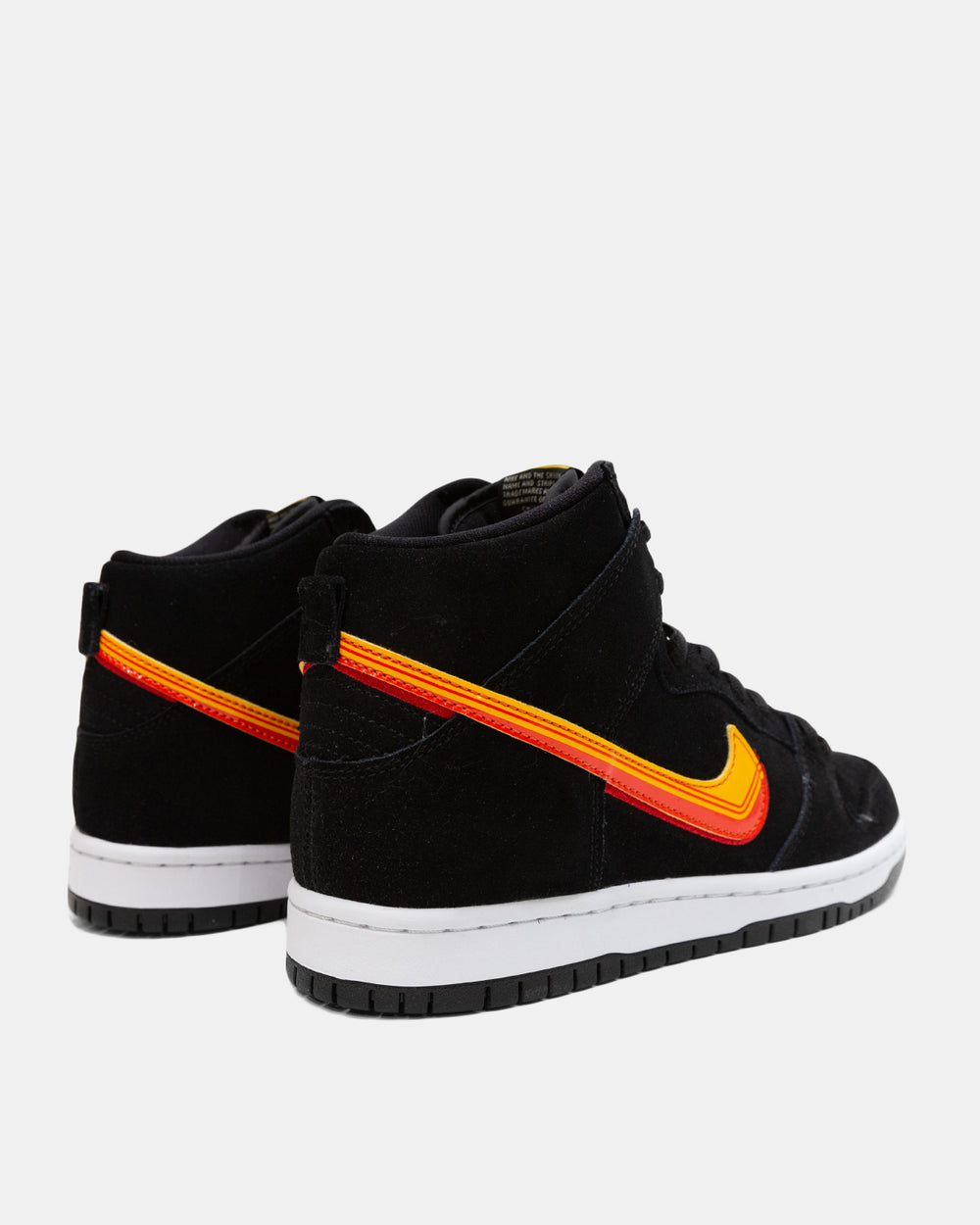 Nike SB - Dunk High (Black | University Gold | Team Orange)