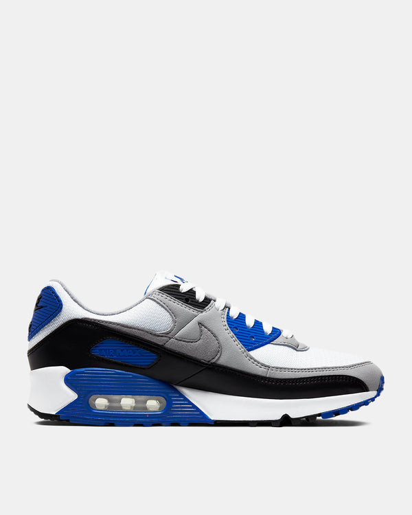 Air Max 90 (White | Hyper Royal | Black | Particle Grey)