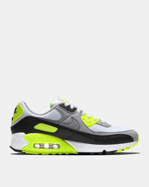 Nike Air Max 90 (Wht| Grey| Volt)