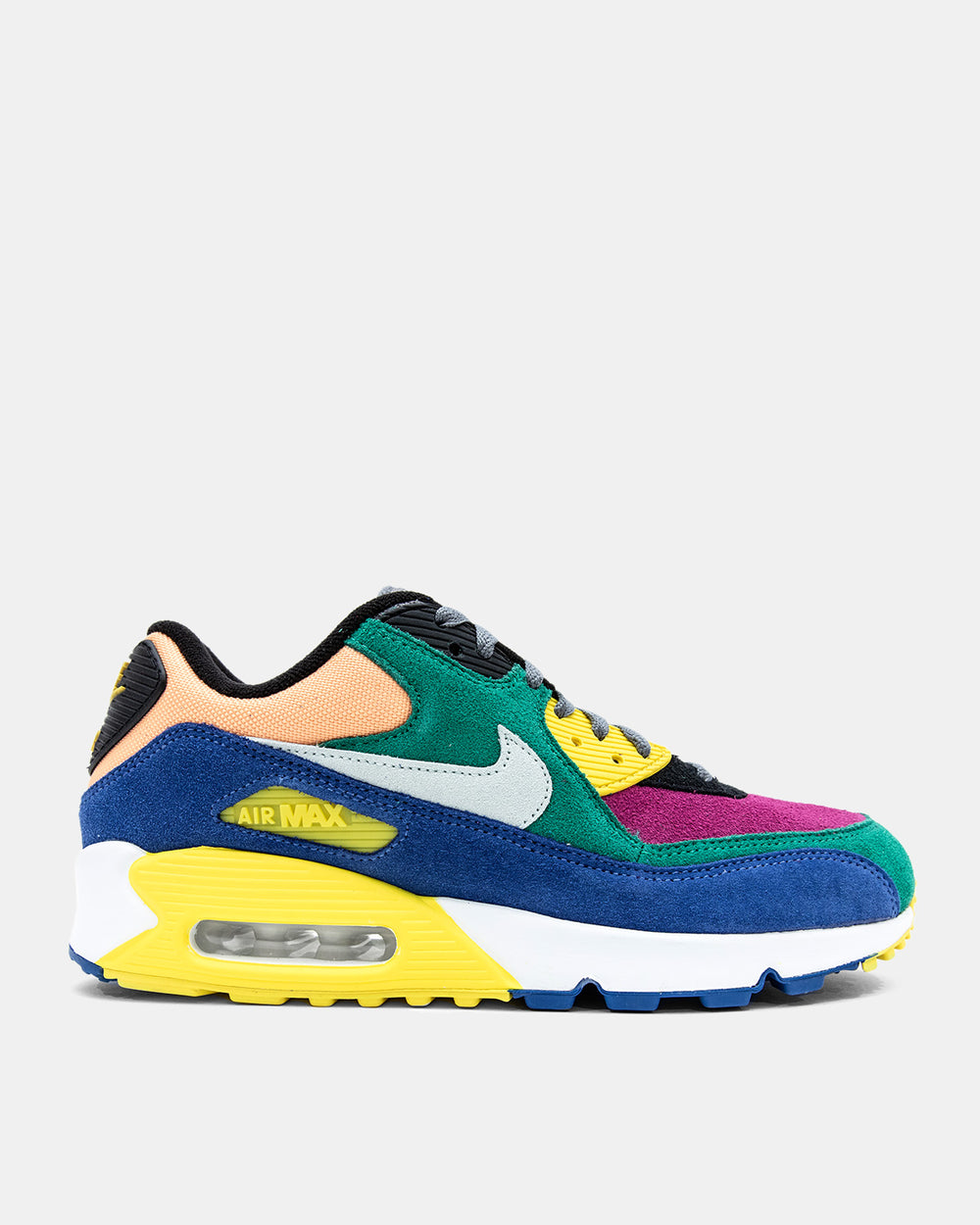 Nike - Air Max 90 'Viotech' (Lucid Green | Game Royal | Opti Yellow | Barley Green)