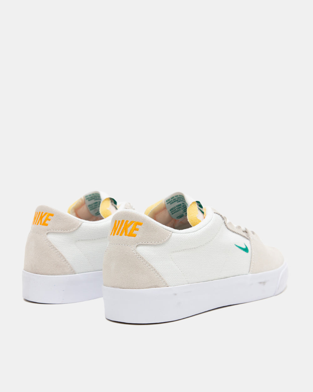 Nike SB - Air Zoom Bruin Edge (White | Vivid Orange | Gum Light Brown | Neptune Green)