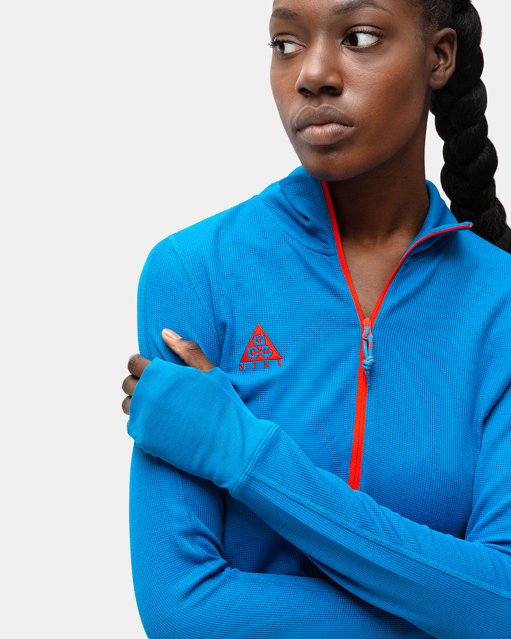 Nike - Women's ACG Long Sleeve Thermal (Imperial Blue | Habanero Red)