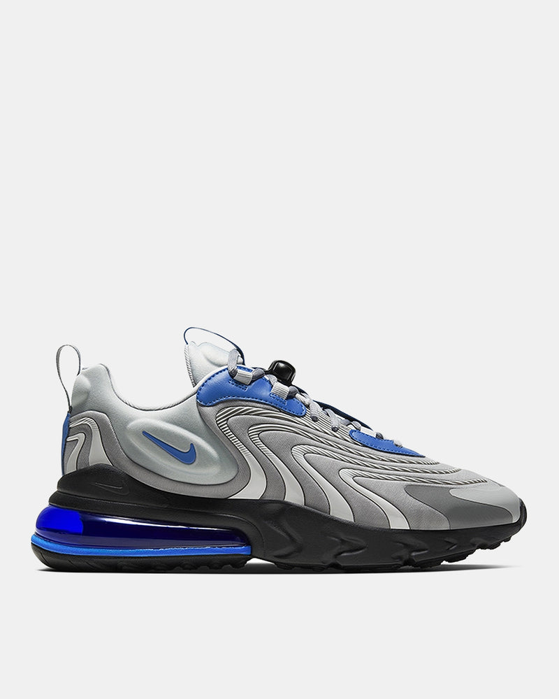 Air Max 270 React ENG (Light Smoke Grey | Black | Battle Blue)