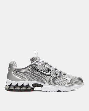 Nike - Air Spiridon Cage 2 (Light Smoke Grey | Metallic Silver)
