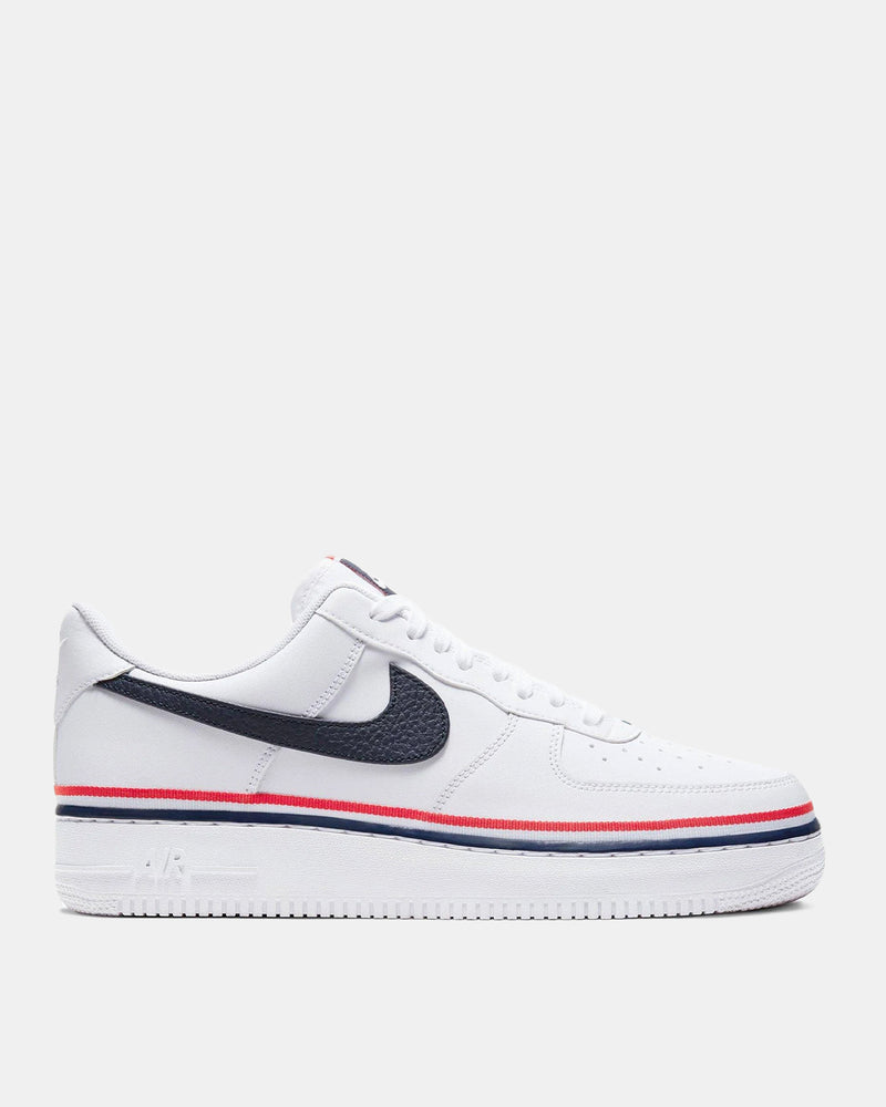 Air Force 1 '07 LV8 (White | Obsidian | Habanero Red)