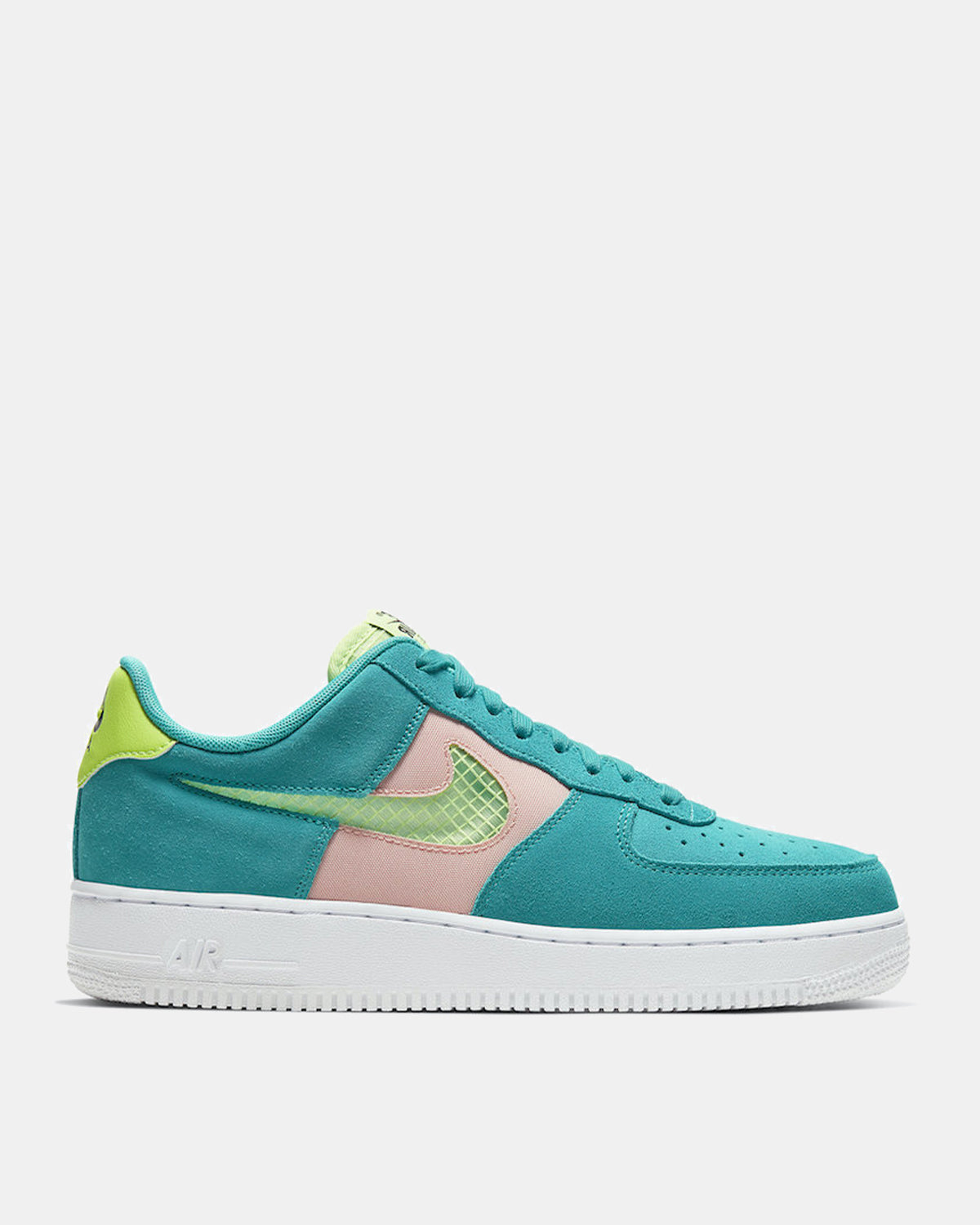 Air Force 1 '07 (Oracle Aqua | Ghost Green | Washed Coral)