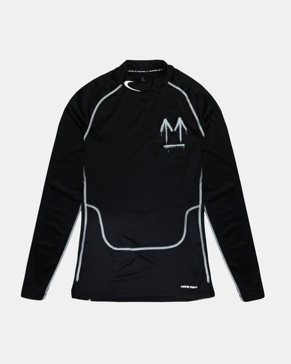 Nike - Nike x Off-White Running Long Sleeve Tee (Black)