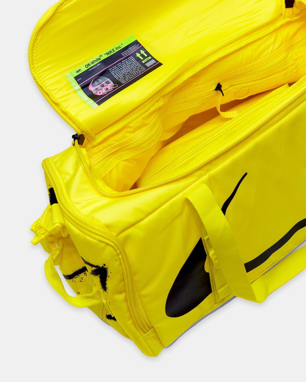 Nike - Nike x Off-White Duffle Bag (Opti Yellow)
