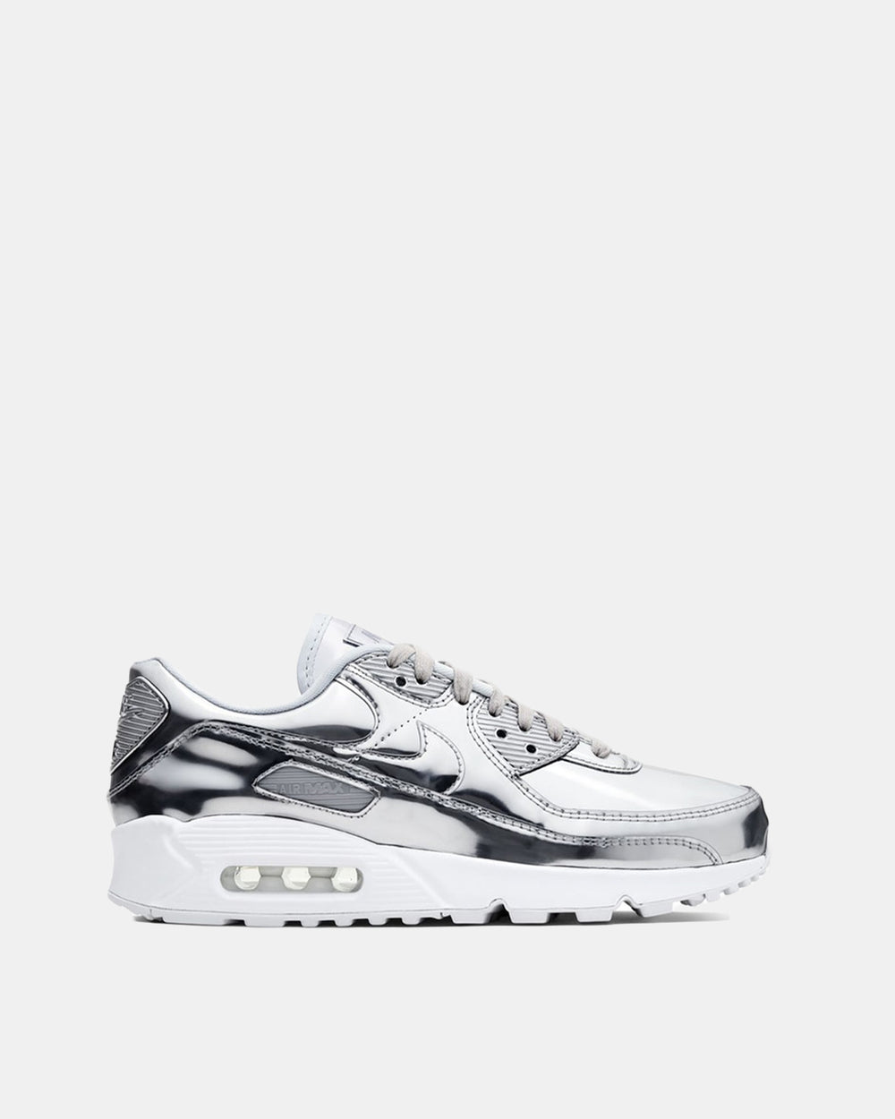 Women's Air Max 90 SP (Chrome | Pure Platinum | White)