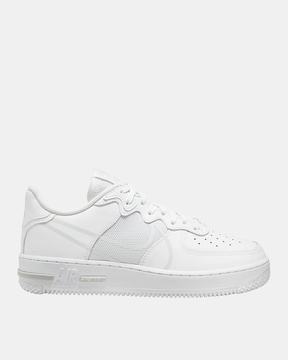 Air Force 1 React (White | Pure Platinum)