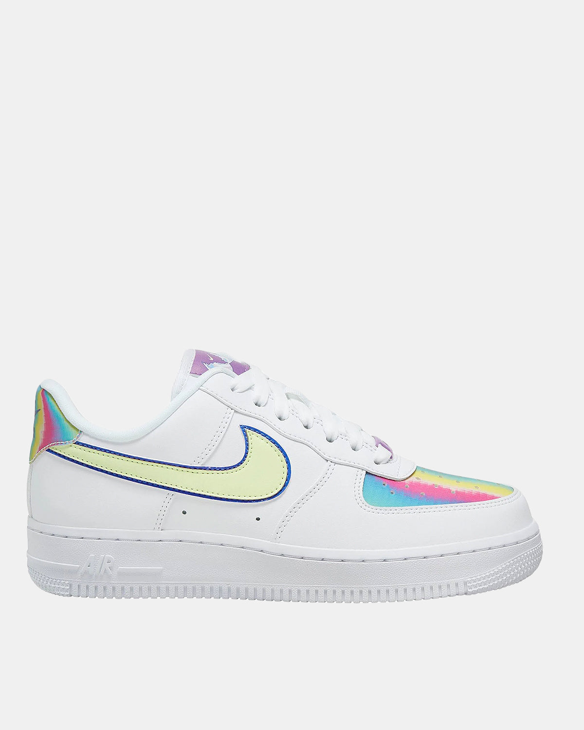 Women's Air Force 1 Easter (White | Barley Volt | Hyper Blue)