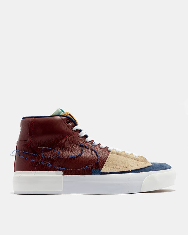 SB Zoom Blazer Mid Edge (Team Red | Navy)