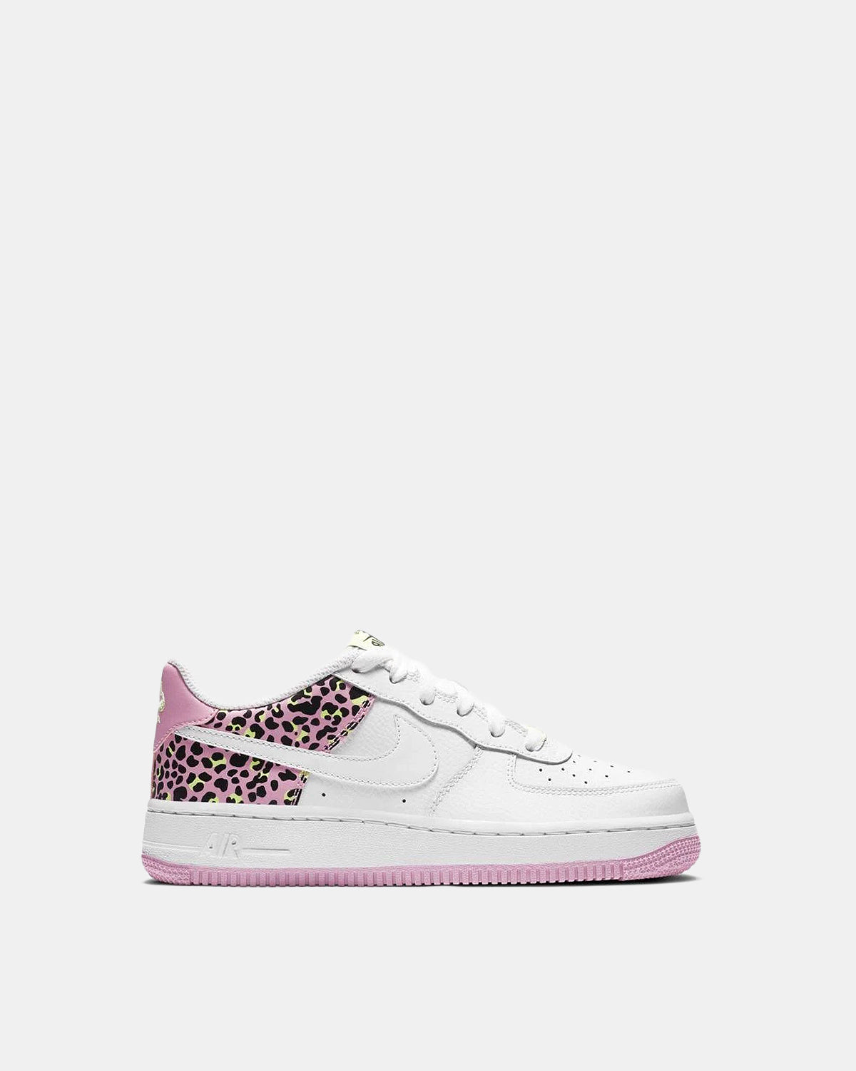 Grade School Air Force 1 '07 (White | Pink | Volt)