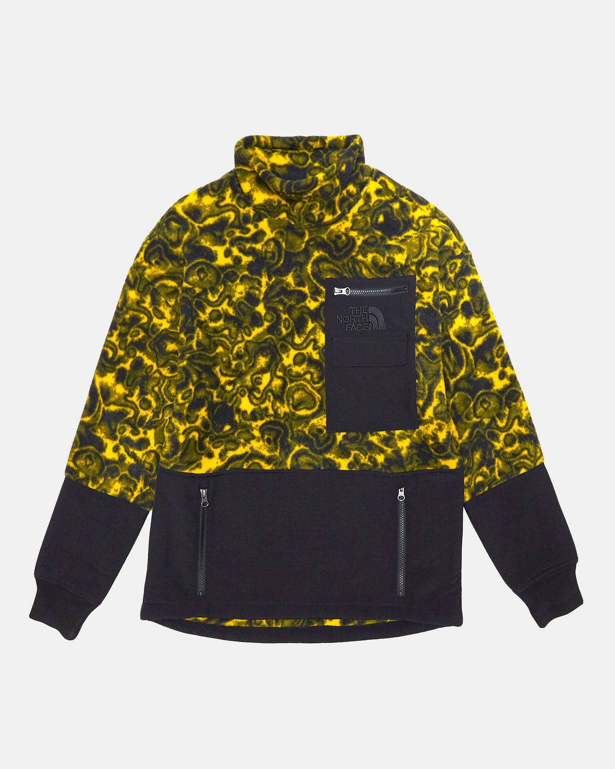 The North Face - '94 Rage Classic Fleece Pullover (Leopard Yellow | 1994 Rage Fleece Print)