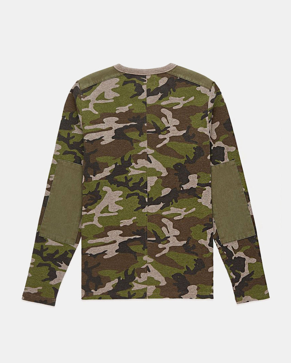 Ovadia & Sons - Waffle Long Sleeve Thermal Tee (Camo)
