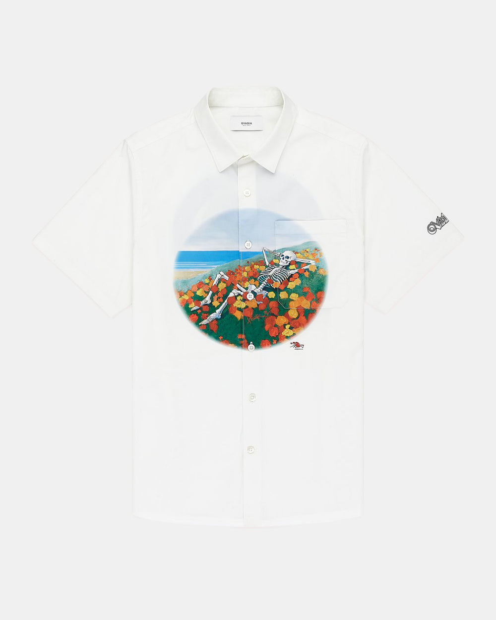 Ovadia - Mouse Beach Shirt (White)