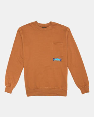 Pas de Mer - Ice Sweatshirt (Brown)