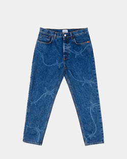 Wire Pants (Blue)