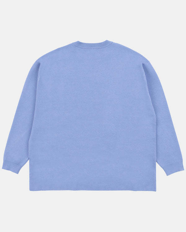 Mona Knit Sweater (Blue)