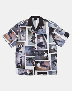High Fashion Buttondown Shirt (Black)