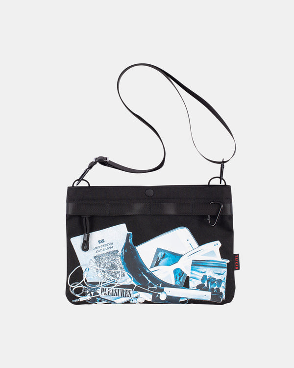 PLEASURES x Taikan Sacoche Bag (Xray | Black)