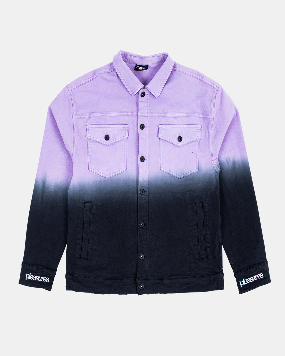 PLEASURES - Dawn Trucker Jacket (Purple)
