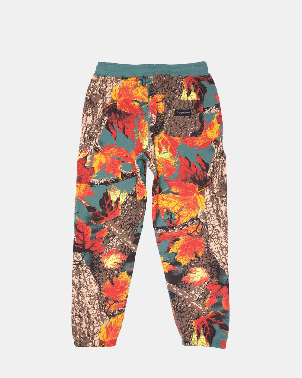Raised by Wolves - Maple Camo Sweatpants (AOP Moss)