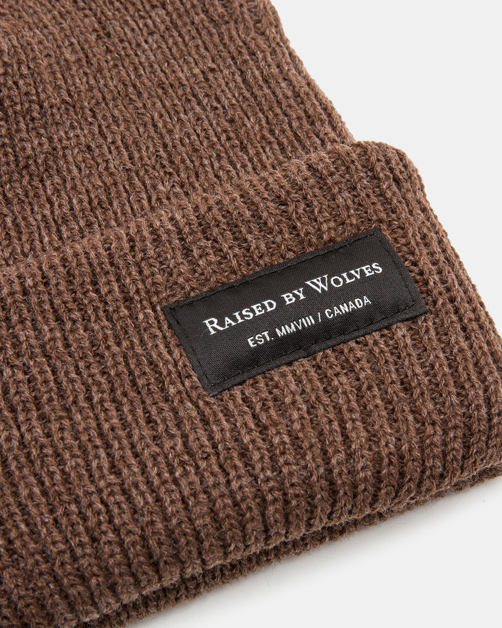 Raised by Wolves - Alert Watch Cap (Heather Coffee)