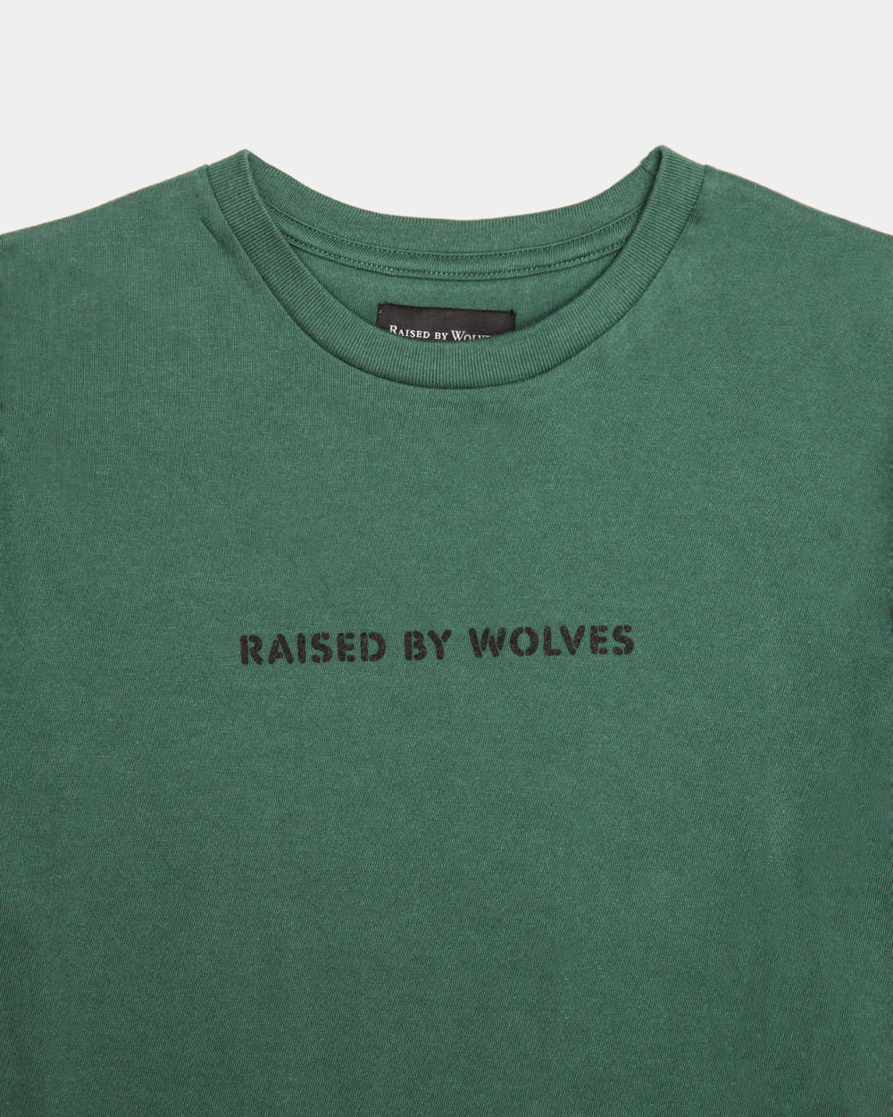Raised by Wolves - Evil T-Shirt (Green)