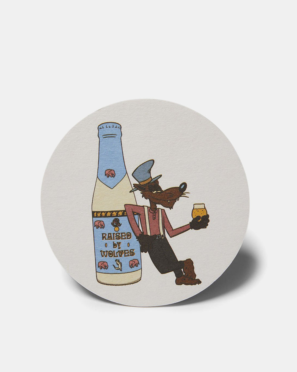 Raised by Wolves - Coasters (Multi Color)