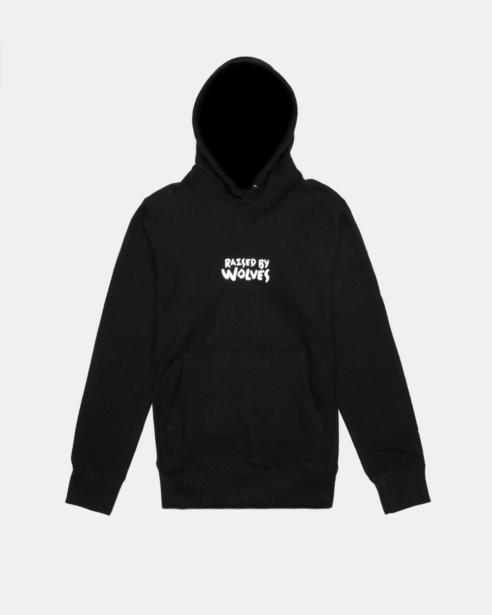Raised by Wolves - Tag Logo Hooded Sweatshirt (Black)
