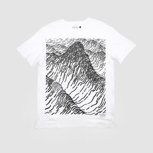 Raised By Wolves - Peaks T-Shirt (White)