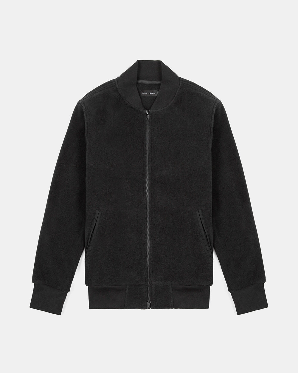 Raised by Wolves - Polartec Stacked Bomber Jacket (Black)