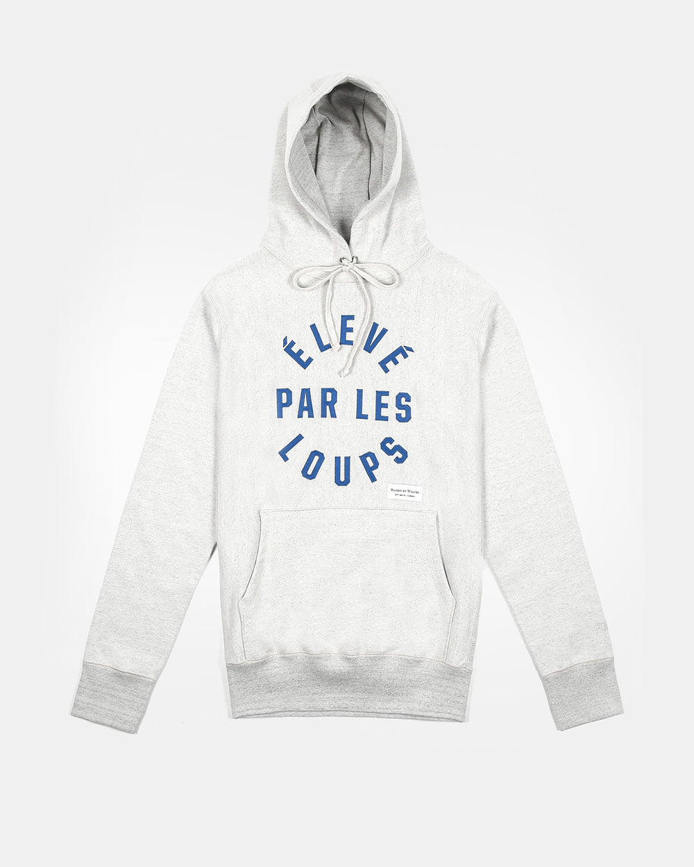 Raised By Wolves - Eleve Par Les Loups Hooded Sweatshirt (Heather Ash)