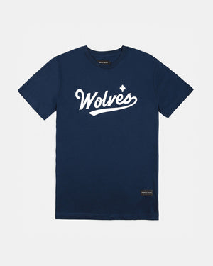 Raised by Wolves - Raines T-Shirt (Navy Blue)