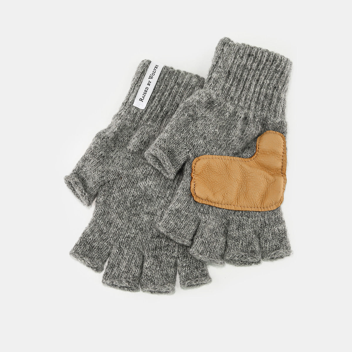 Raised by Wolves - Atwater Fingerless Gloves (Heather Grey)