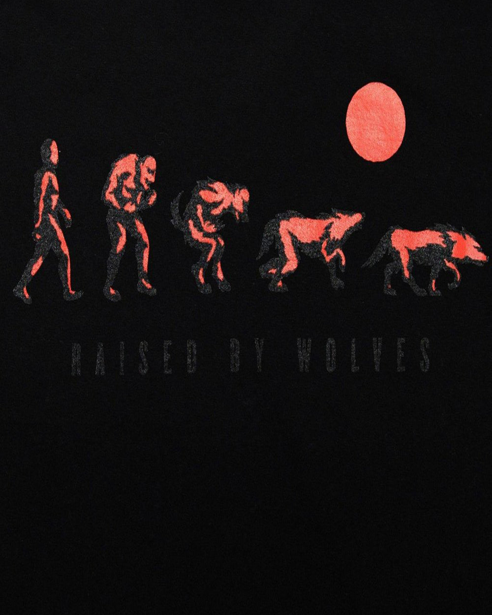 Raised by Wolves - Evolution Tee (Black)