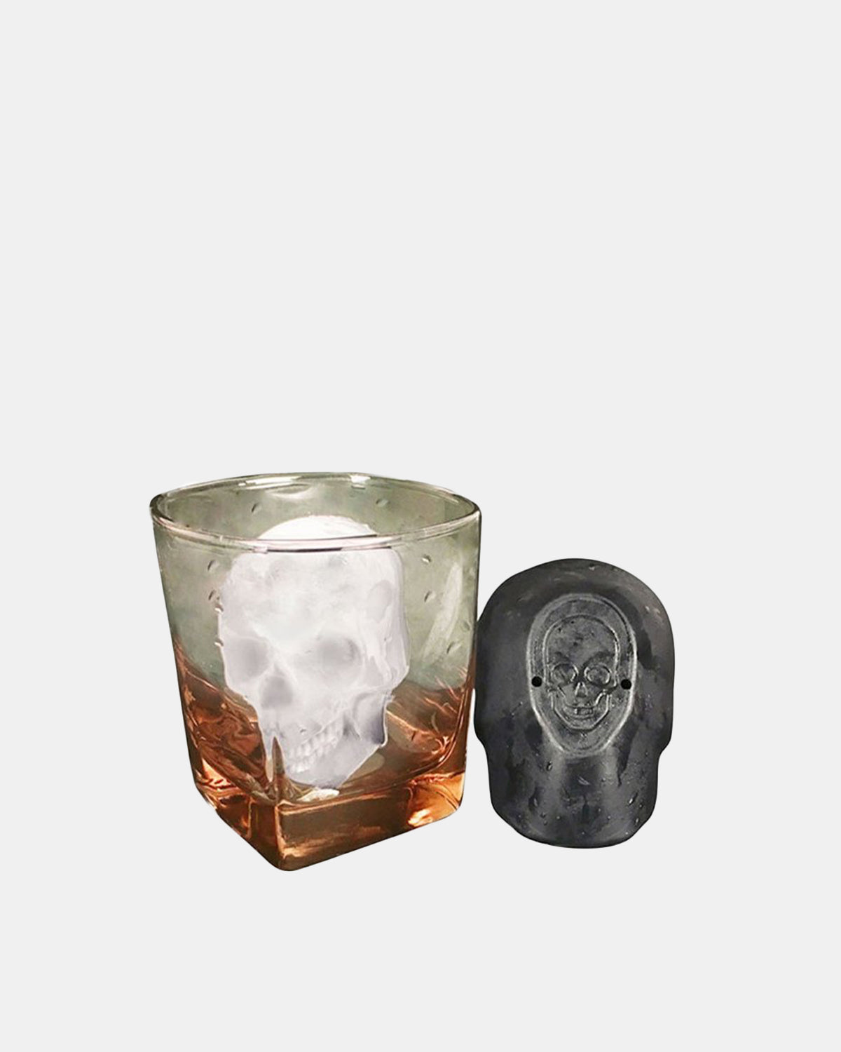 Raised by Wolves - Skull Ice Cube Mold