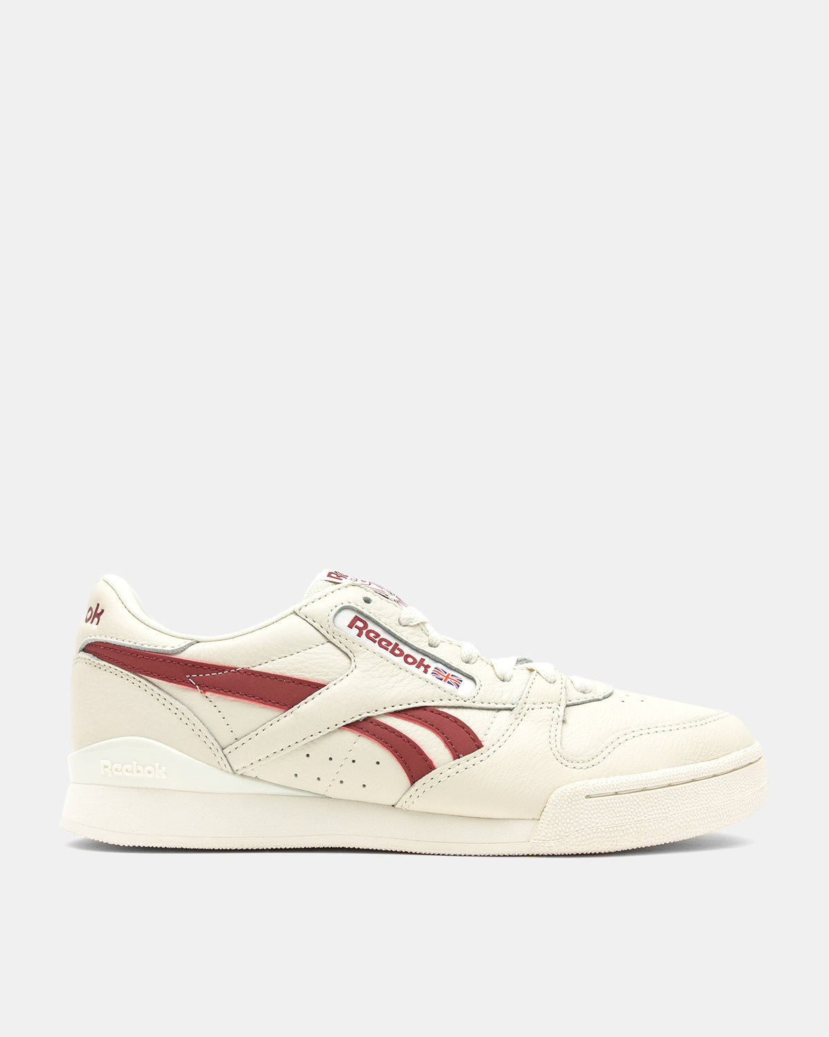 Reebok - Phase 1 Pro (Classic White | Meteor Red)