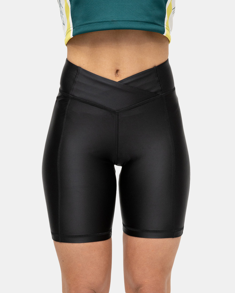 Reebok - Women's Studio High-Rise Shorts (Black)