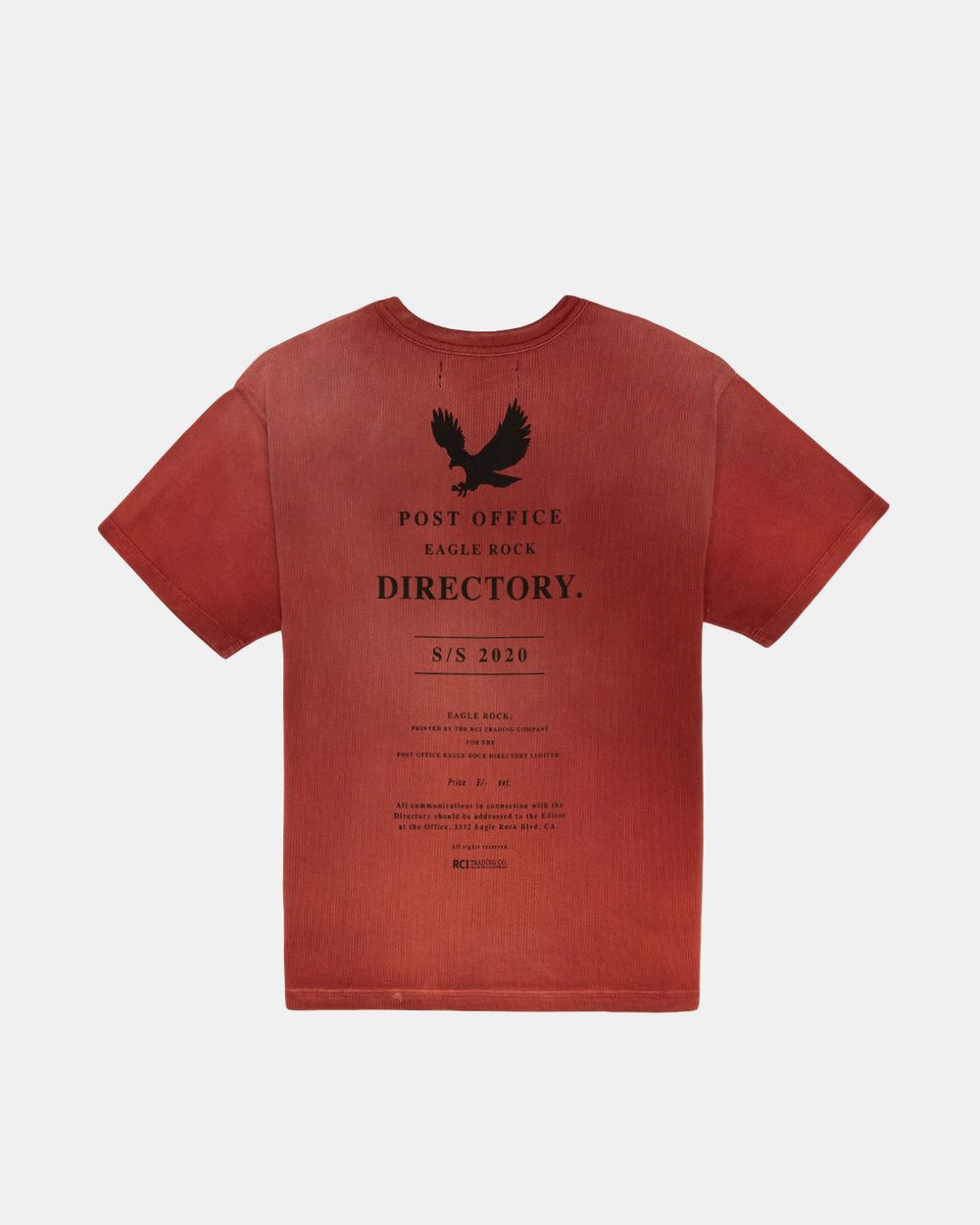 Reese - Post Office Directory Aged Tee (Red)