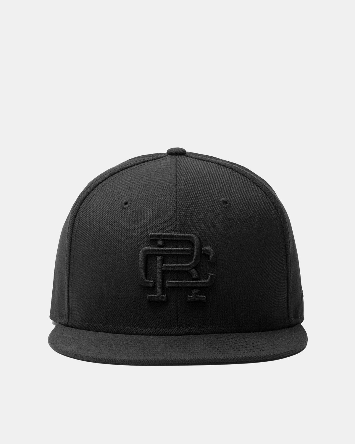 Reigning Champ - Reigning Champ x New Era Monogram Fitted Hat (Black | Virgin Wool)