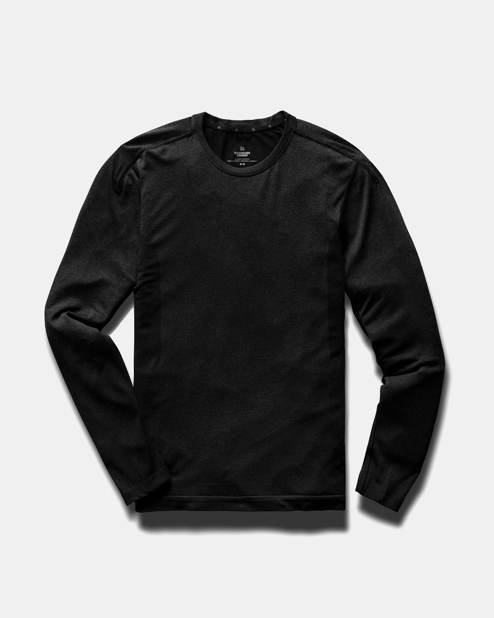 LS Running Shirt Black