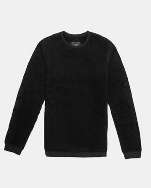 Reigning Champ - Crewneck (Black | Shearling)