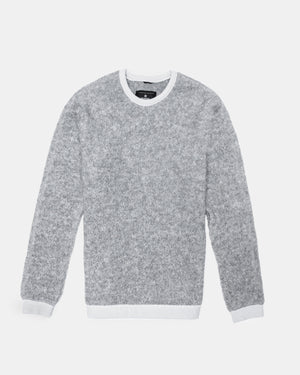 Reigning Champ - Crewneck (Heather Grey | Shearling)