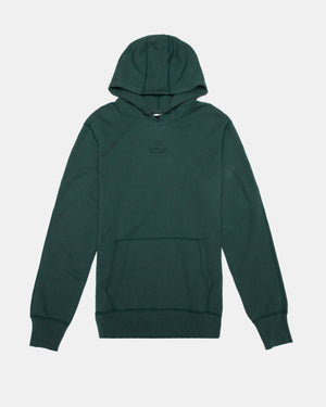 Reigning Champ - Embroidered Pullover Hoodie (Court Green | Lightweight Terry)