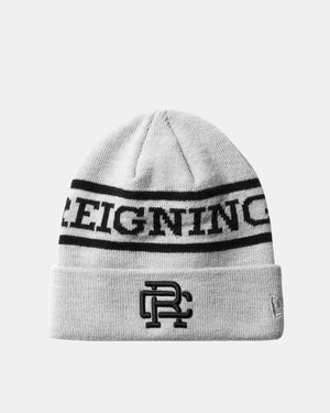 Reigning Champ - Reigning Champ x New Era Beanie (Heather Grey | Acrylic)